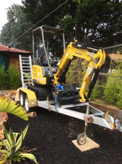 Residential Basement Excavation
